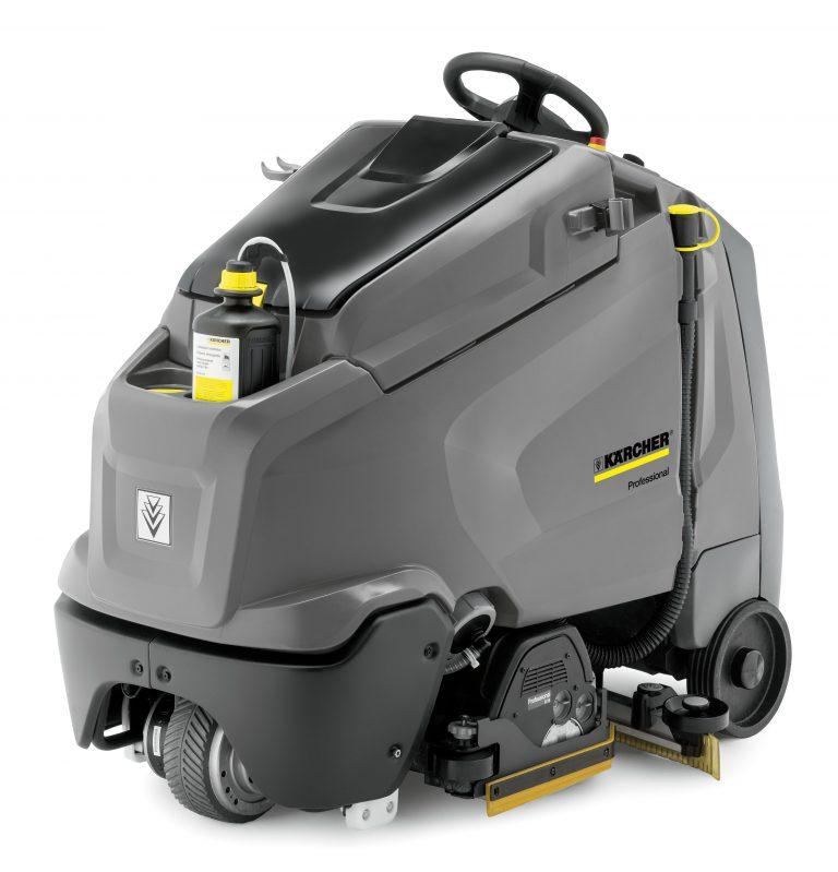 Karcher B 95 RS (Battery) Step on Floor Scrubber Drier
