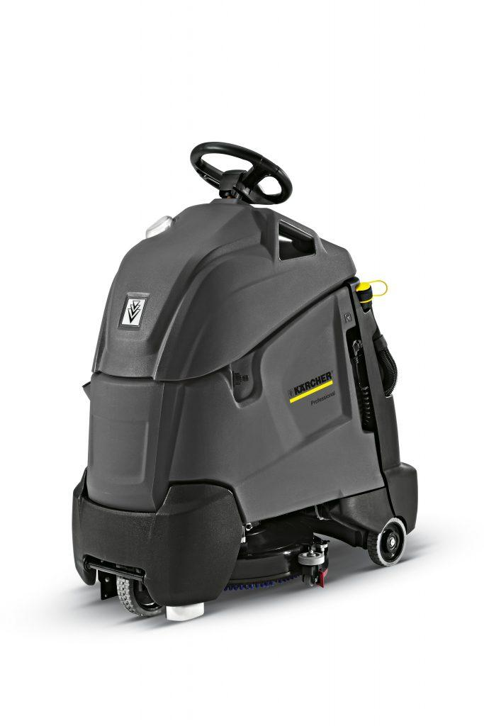 Karcher BD 50/40 RS Bp (Battery) Step on Floor Scrubber Drier
