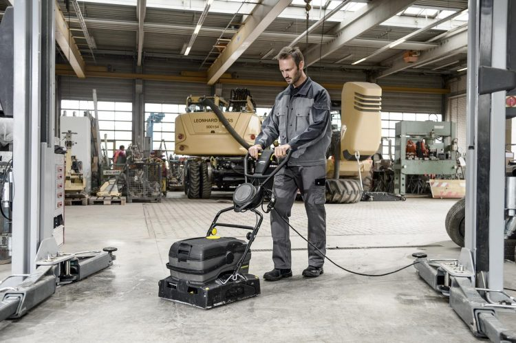 Walk Behind Scrubber Dryers for Hire