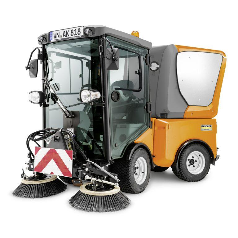 Karcher MC 80 Ride on City Sweeper
