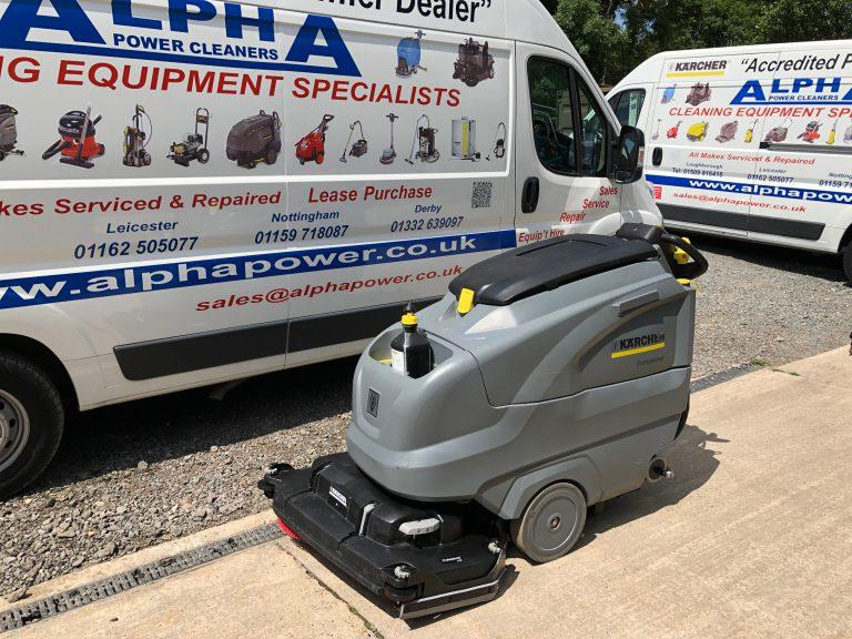 Ex-Hire Karcher B 120 W Bp (Disc Brush) (Battery) Floor Scrubber Dryer