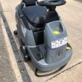 Gallery of Ex-Hire Karcher B 90 R Adv DOSE Bp (Roller Brush) (Battery) Ride on Floor Scrubber Dryer