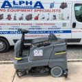 Gallery of Ex-Hire Karcher B 90 R Adv DOSE Bp Ride on Floor Scrubber Dryer