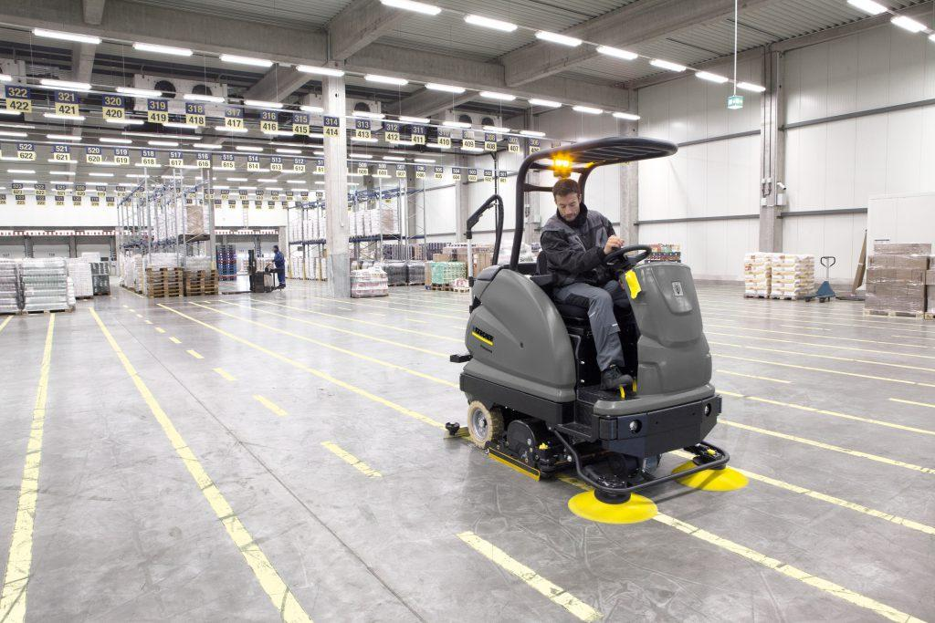 Karcher B 250 R Warehouse Cleaning