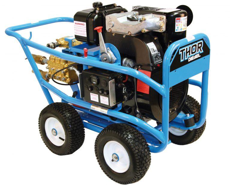 Thor TT18400 DHE (Diesel) Engine Driven Cold Water Pressure Washer