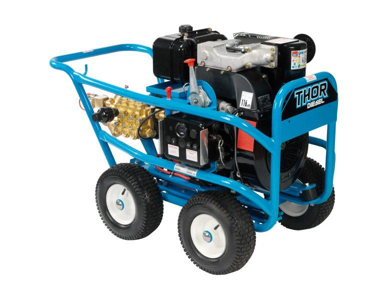 Thor TT41200 DHE (Diesel) Engine Driven Cold Water Pressure Washer