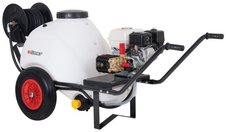 DPM WBU8150P (Petrol) Wheel Barrow Tank Engine Driven Cold Water Pressure Washer