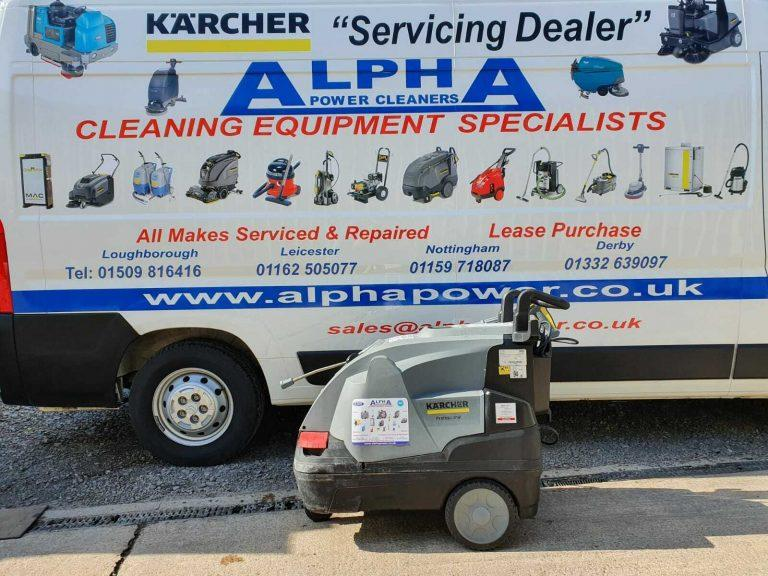 Ex-Hire Karcher HDS 6/10 C (110v) Hot Water Pressure Washer