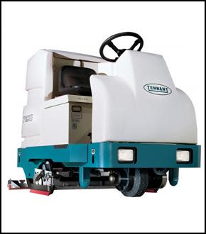 Tennant 7200 (Battery) Ride on Floor Scrubber Dryer