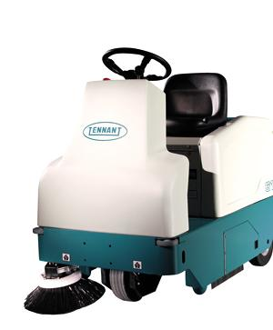 Tennant 6100 (Petrol) Ride-on Floor Sweeper