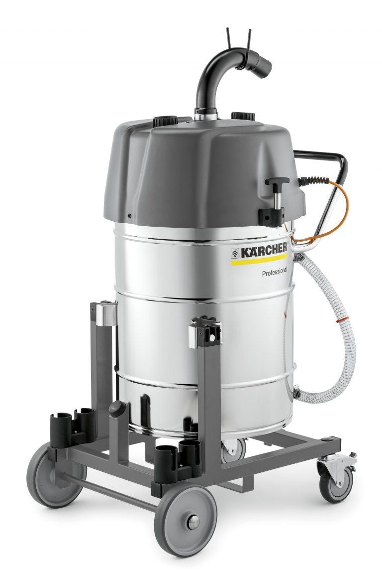Karcher IVR-L 100/24-2 Tc Me (240v) Industrial Liquid and Swarf Vacuum