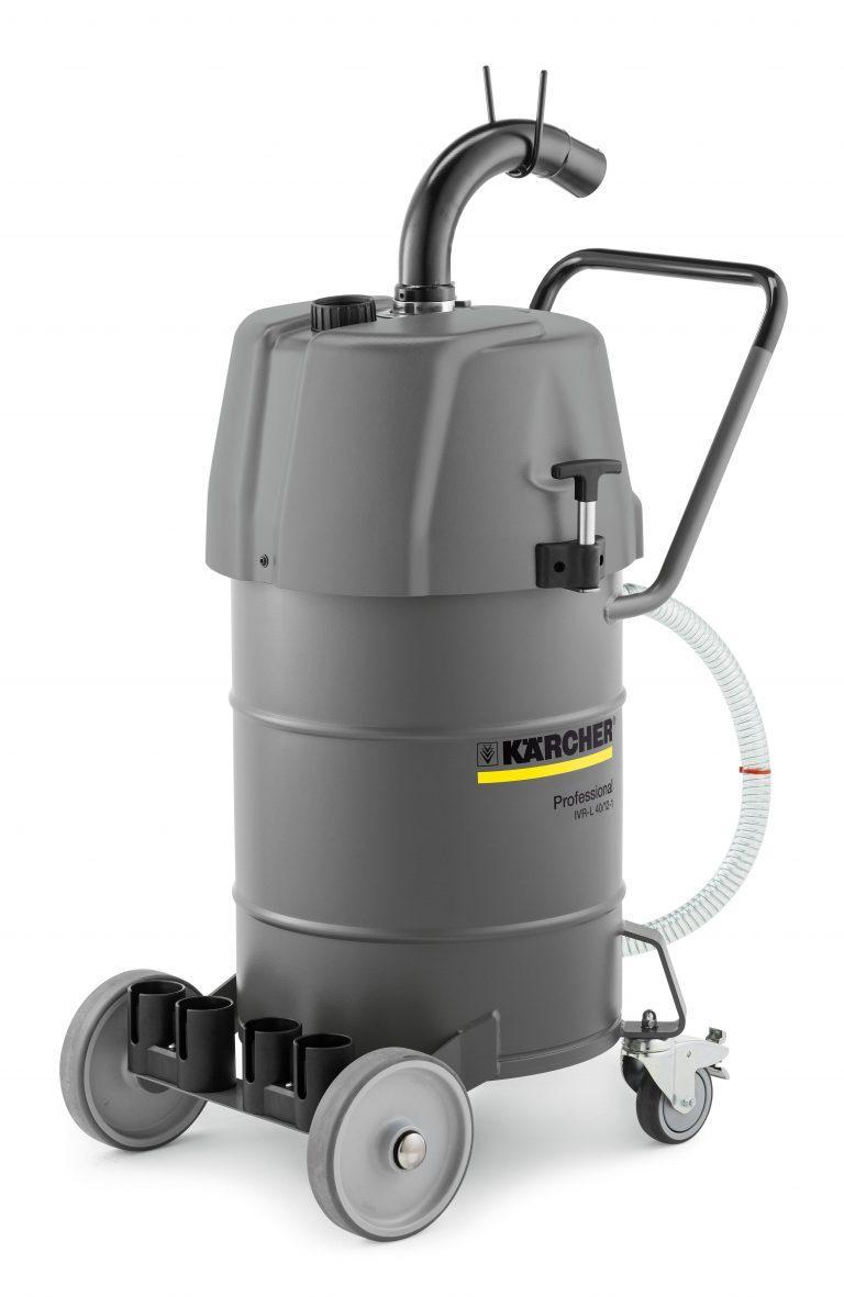 Karcher IVR-L 40/12-1 (240v) Industrial Liquid and Swarf Vacuum