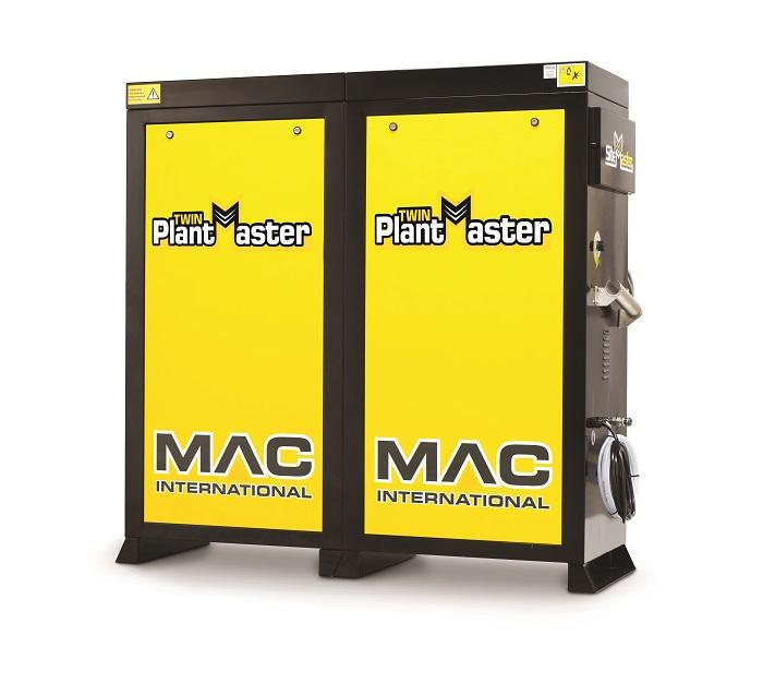 MAC Twin Plantmaster 12/100 (240v) Hot Water Pressure Washer