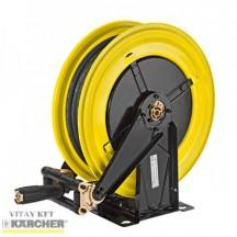 20m Karcher Fully Retractable Painted Steel Hose Reel