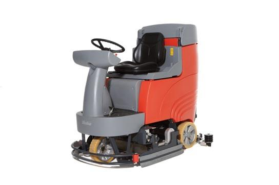 Hako Scrubmaster B115 R (Battery) Ride on Floor Scrubber Drier