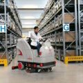 Gallery of Comac Ultra 85B (Battery) Ride on Floor Scrubber Drier