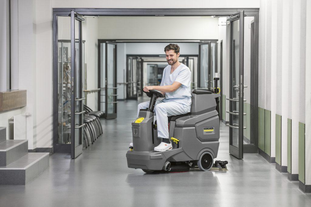 Karcher BD 50 70 R Ride on Floor Scrubber Dryer