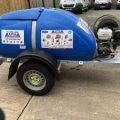 Gallery of 1100L 21/200 Trailer Petrol Cold Water Pressure Washer