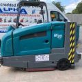 Gallery of Ex-Hire Tennant M20 (LPG) Ride on Combination Floor Scrubber Dryer