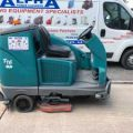 Gallery of Ex-Hire Tennant T16 (Battery) Ride on Floor Scrubber Dryer
