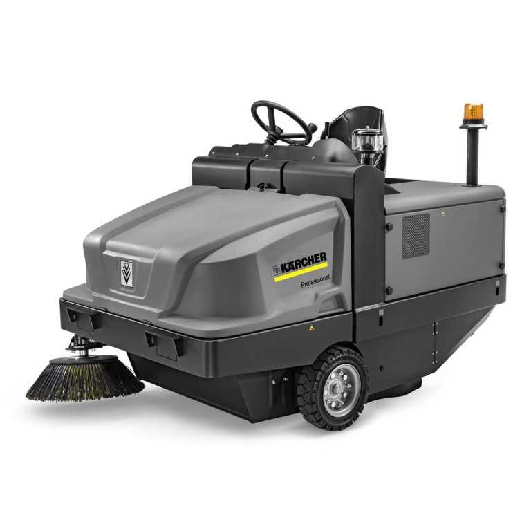 Karcher KM 120/250 R D Classic (Diesel) Ride on Floor Sweeper