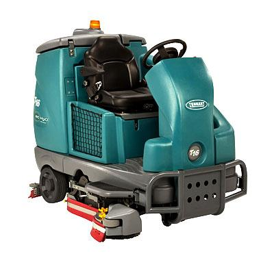 Tennant T16 (Battery) Ride-on Scrubber Dryer