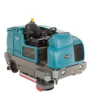 Tennant T20 (LPG/Diesel) Industrial Ride-on Scrubber Dryer
