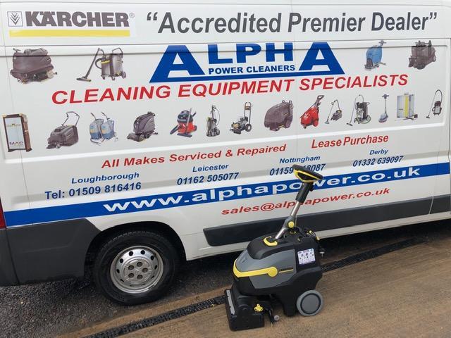Ex-Demo Karcher BR 35/12 C Bp (Battery) Floor Scrubber Drier