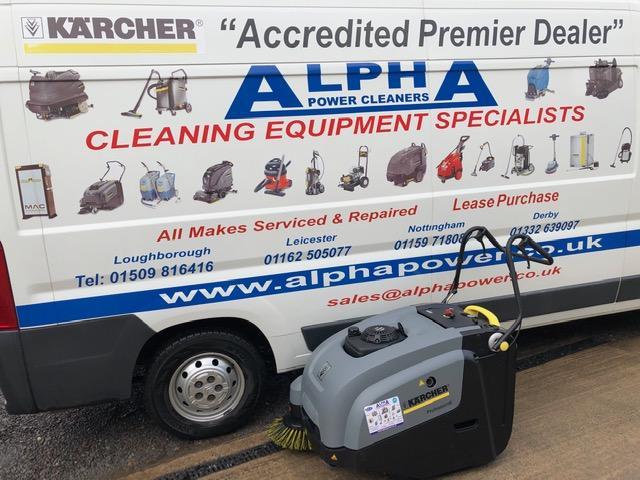Ex-Demo Karcher KM 75/40 W P Floor Sweeper