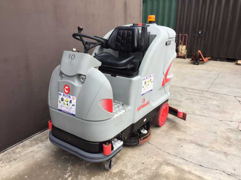 Ex-Hire Comac Ultra 100B (Battery) Ride on Floor Scrubber Drier