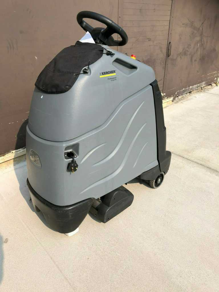 Ex- Hire Karcher CV 60/2 RS (Battery) Dry Step on Vacuum Cleaner