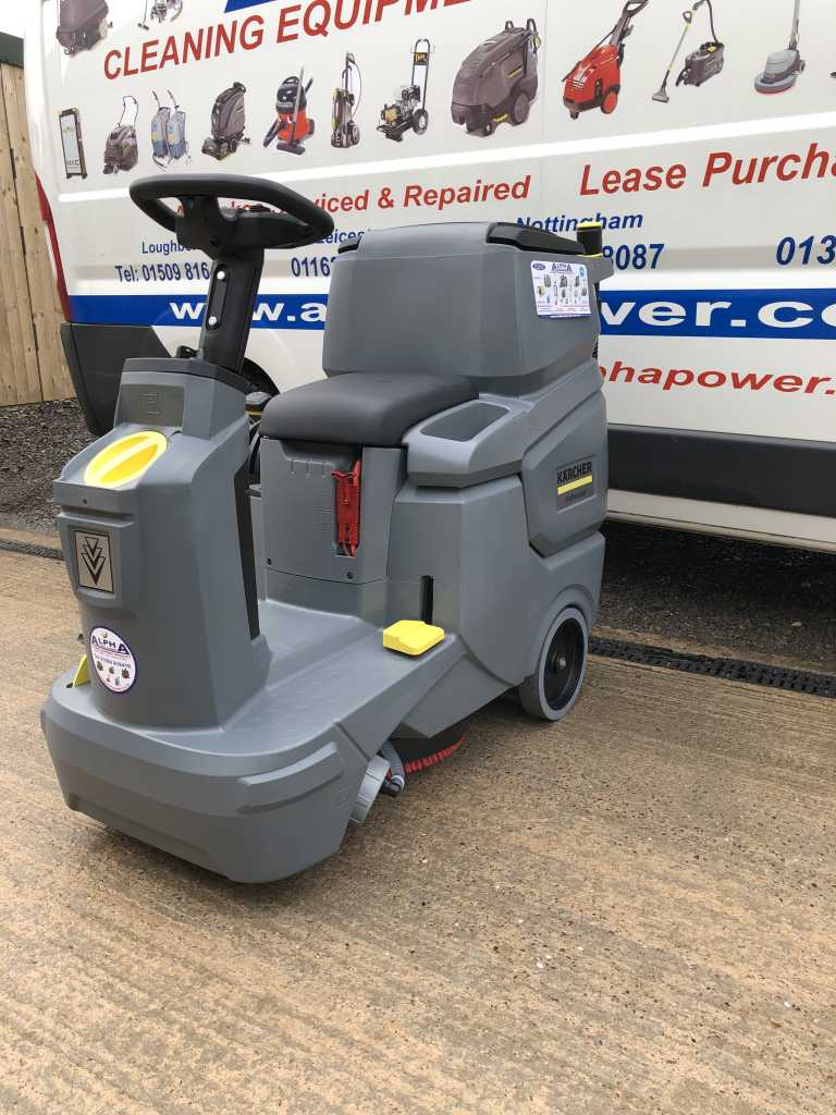 Ex-Demo Karcher BD 50/70 (Battery) Ride on Floor Scrubber Dryer
