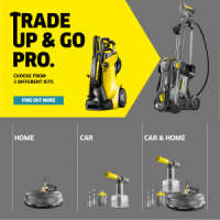 Trade Up and Go Pro with Karcher