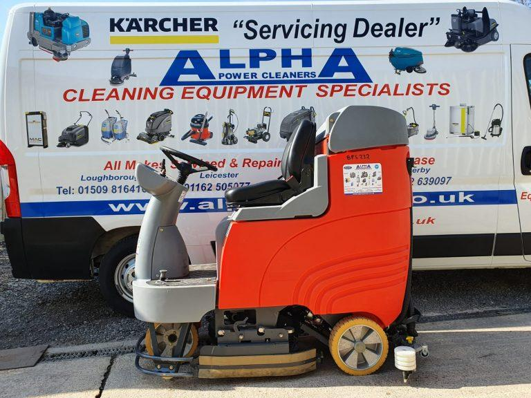 Ex-Hire Hako Scrubmaster B115 R Ride on Floor Scrubber Dryer