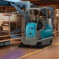 Gallery of Tennant S16 Compact Ride-on Sweeper