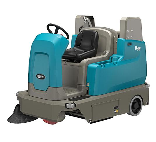 Tennant S16 Compact Ride-on Sweeper