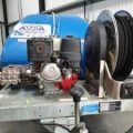 Gallery of Ex-Hire 1100L 21/200 Trailer Petrol Cold Water Pressure Washer
