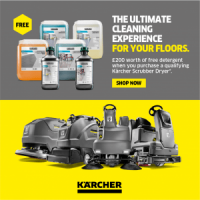 [Ended] £200 Free Detergent Pack with Karcher Floor Scrubber Dryers