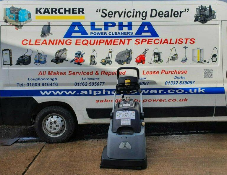 Ex-Hire Karcher BRC 45/45 C Carpet Cleaner