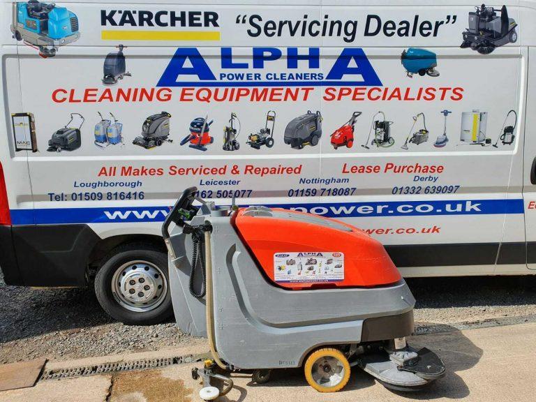 Ex-Hire Hako B650/07 Floor Scrubber Dryer