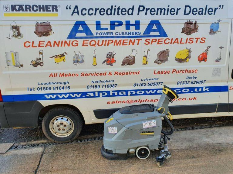 Ex-Hire Karcher BD 43/35 C Ep Floor Scrubber Dryer