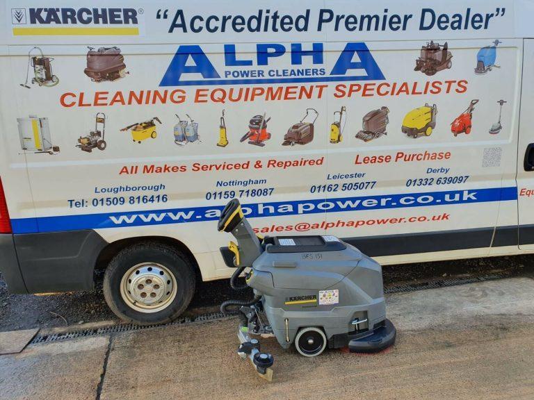 Ex-Hire Karcher BD 43/25 C Bp Floor Scrubber Dryer