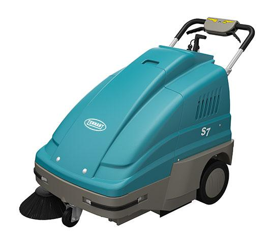 Tennant S7 Walk Behind Floor Sweeper