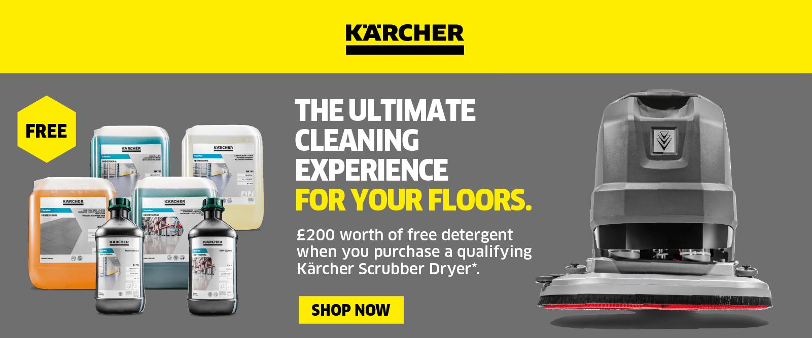 Karcher Floor Care Promotion