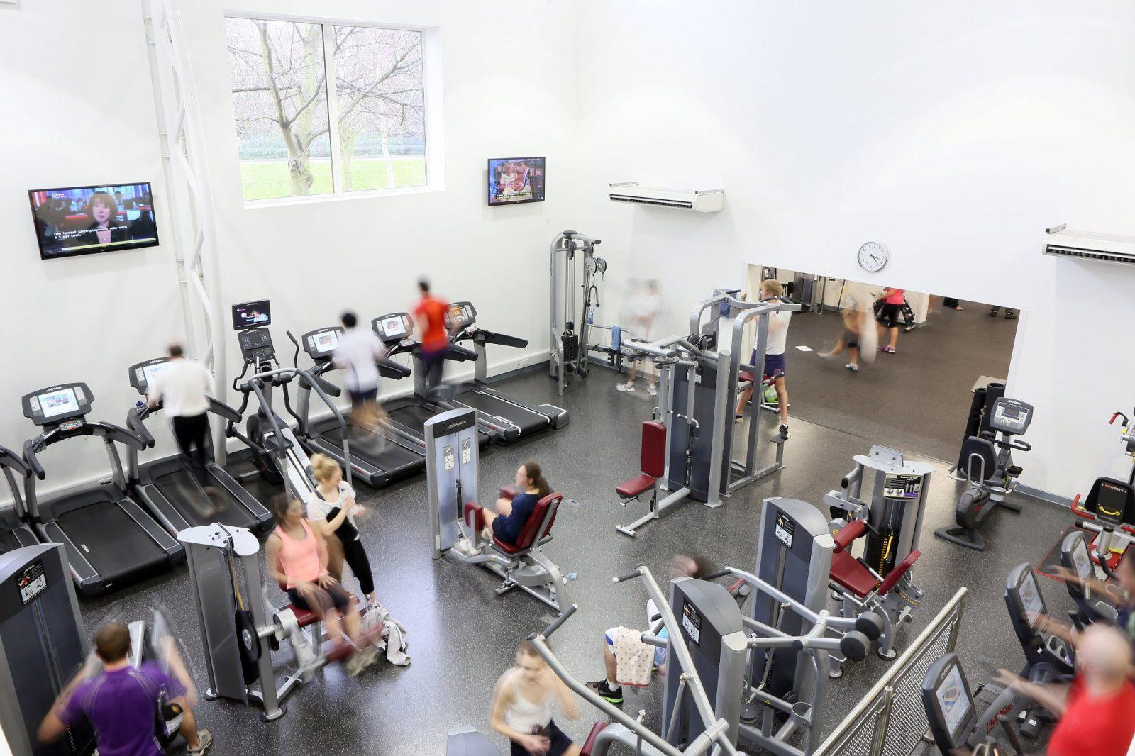 The Gym at Loughborough Leisure Centre