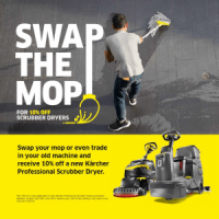 Spring Promotion - 10% Off New Karcher Floor Scrubber Dryers